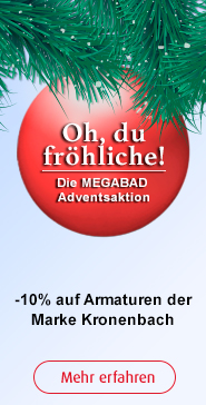 Adventsaktion bei Megabad