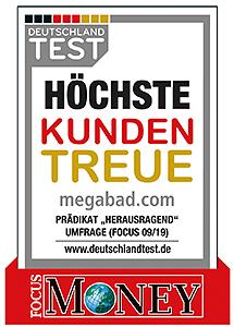 MEGABAD - Badshop & Sanitärbedarf - große Auswahl