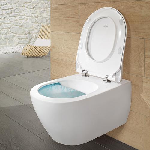 Voll im Trend: Spülrandlose WCs